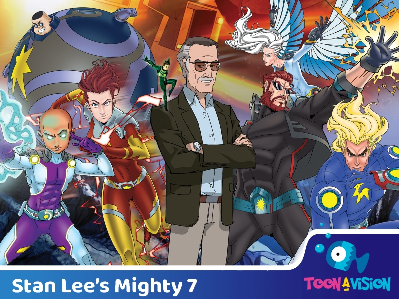 Stan Lee's Might 7